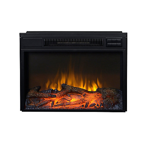 24-inch W Firebox Insert in Black