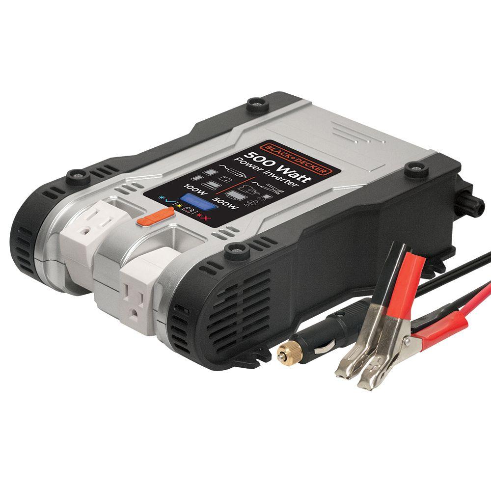 BLACK+DECKER 500W power inverter