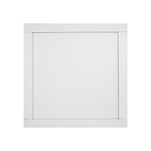 2.5-inch x 6.5-inch x 96-inch White MDF Ceiling Tiles (20 sq. ft. / case)