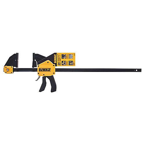 24-inch 600 lb. Trigger Clamp w/3.75-inch Throat Depth