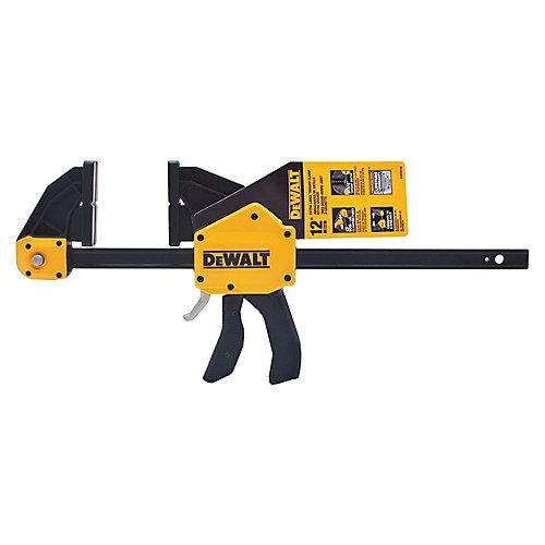 12-inch 600 lb. Trigger Clamp w/3.75-inch Throat Depth