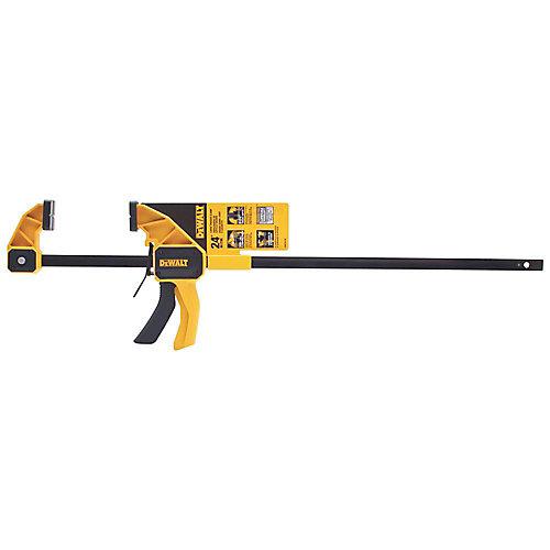 24-inch 300 lb. Trigger Clamp w/3.75-inch Throat Depth