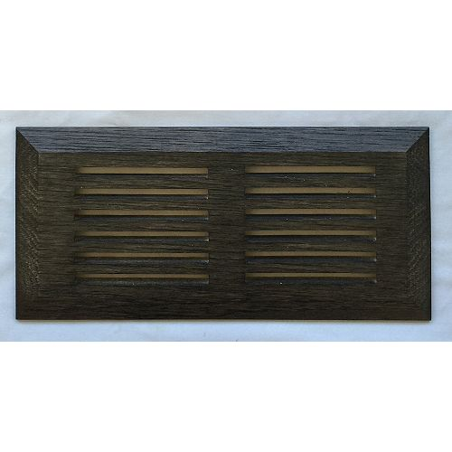 Fumed Hickory Top Mount Register 4 Inchx10 Inch