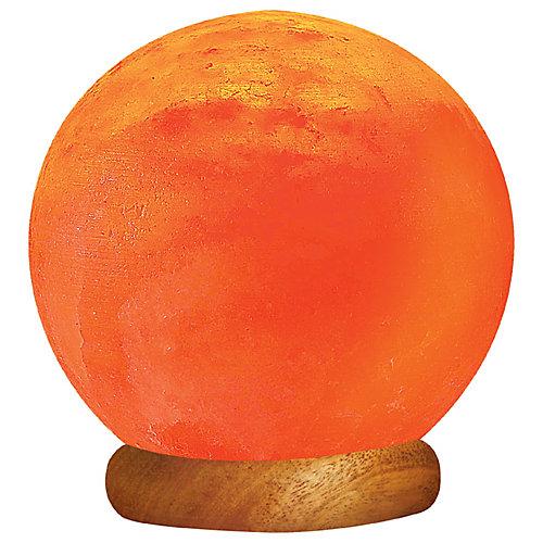 Lampe-globe solaire en sel ionique de lHimalaya