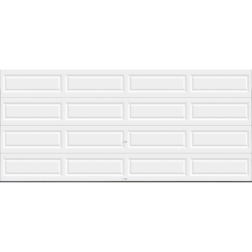 Clopay Porte de garage Série Valeur 16pi x 7pi non-isolée Blanche