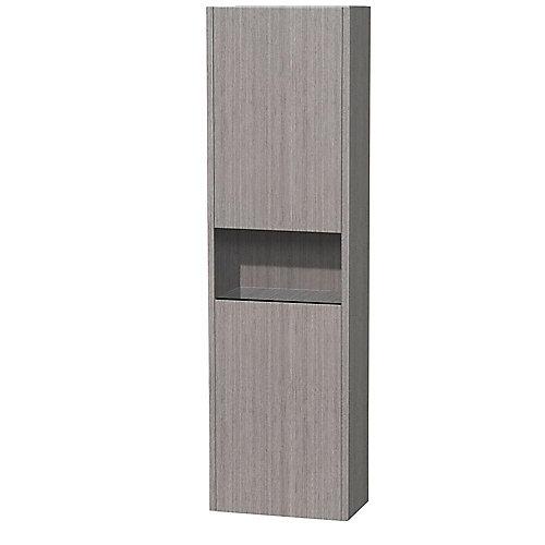 Diana 142,6cm 56-1/8 po L Armoire suspendue chêne gris