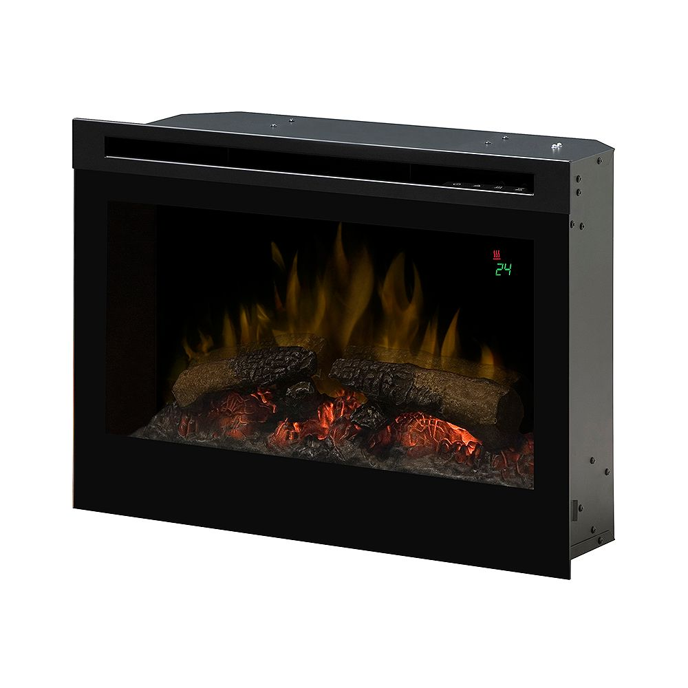 Dimplex 25 In. Electric Firebox with Logset, On-Screen Display and Remote Control