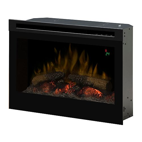 25 In. Electric Firebox with Logset, On-Screen Display and Remote Control