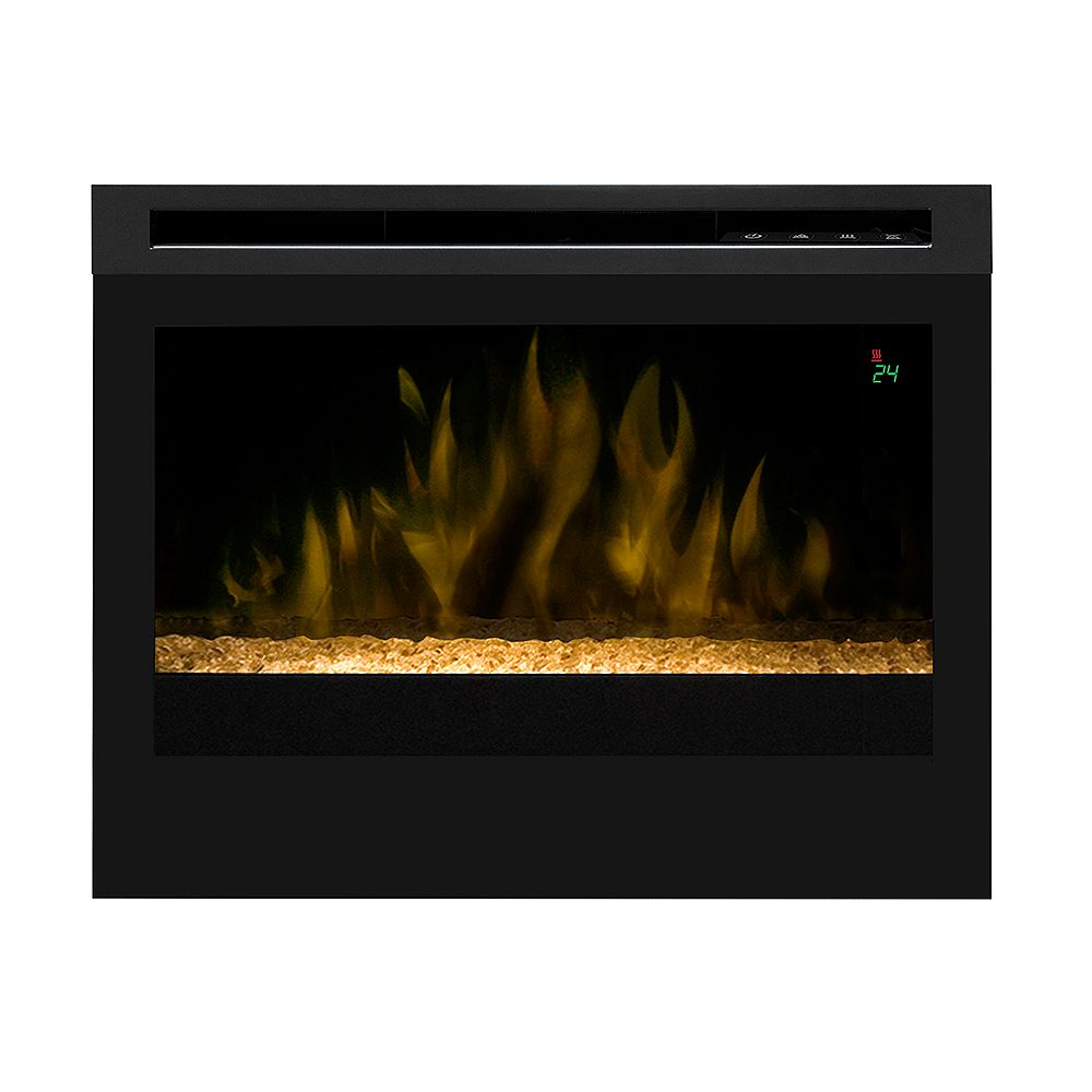 Dimplex 25 In. Electric Firebox with Fixed Crystal Ember Bed