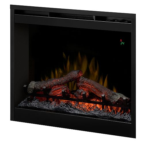 26 In. Electric Firebox with Logset, On-Screen Display and Remote Control