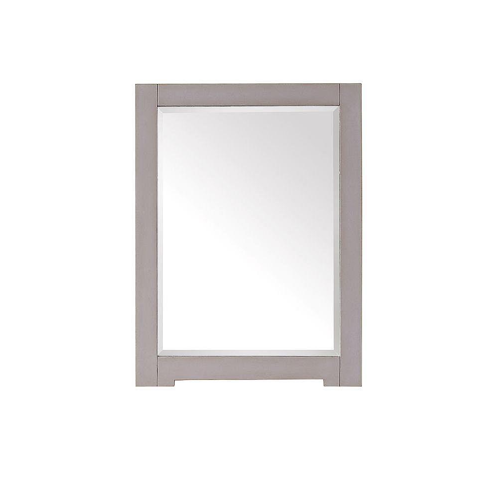 Avanity Miroir Kelly de 24 po au fini bleu-gris