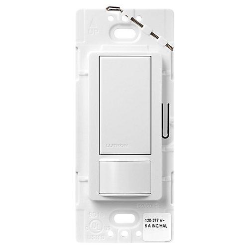 Maestro 6-Amp Multi-Location Dual Voltage Occupancy Sensor Switch, White