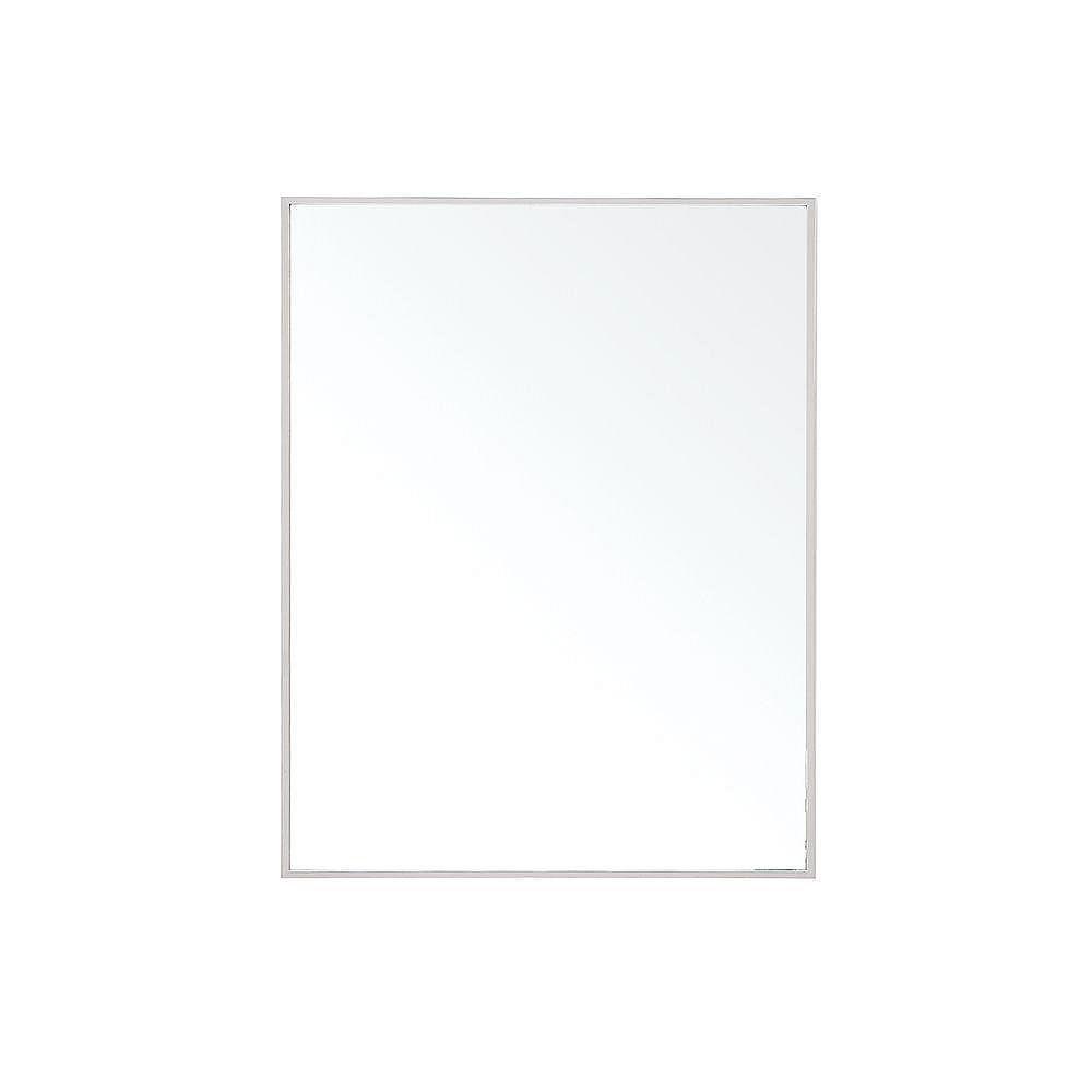 Avanity Miroir Sonoma de 24 po avec cadre en métal