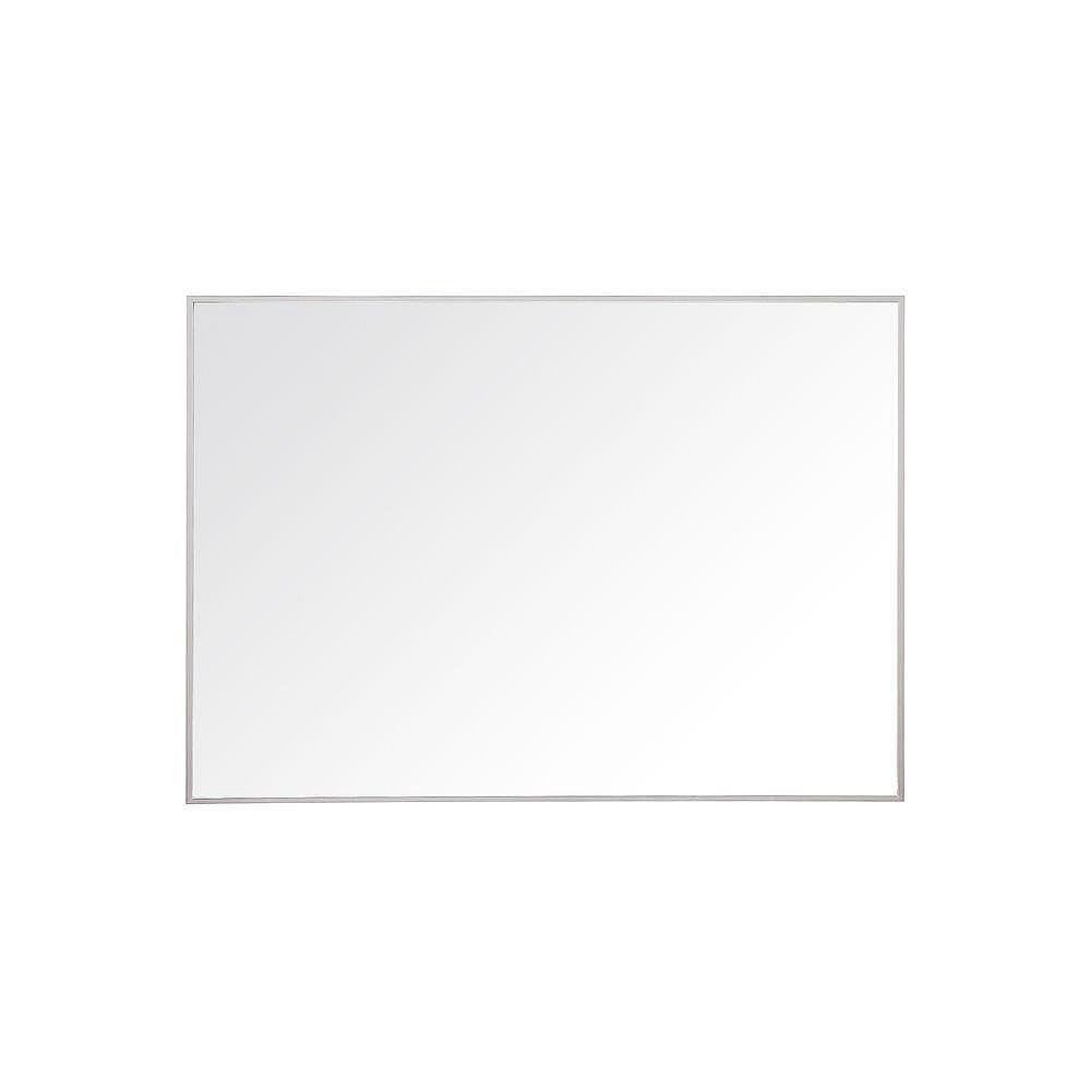 Avanity Miroir Sonoma de 39 po avec cadre en métal