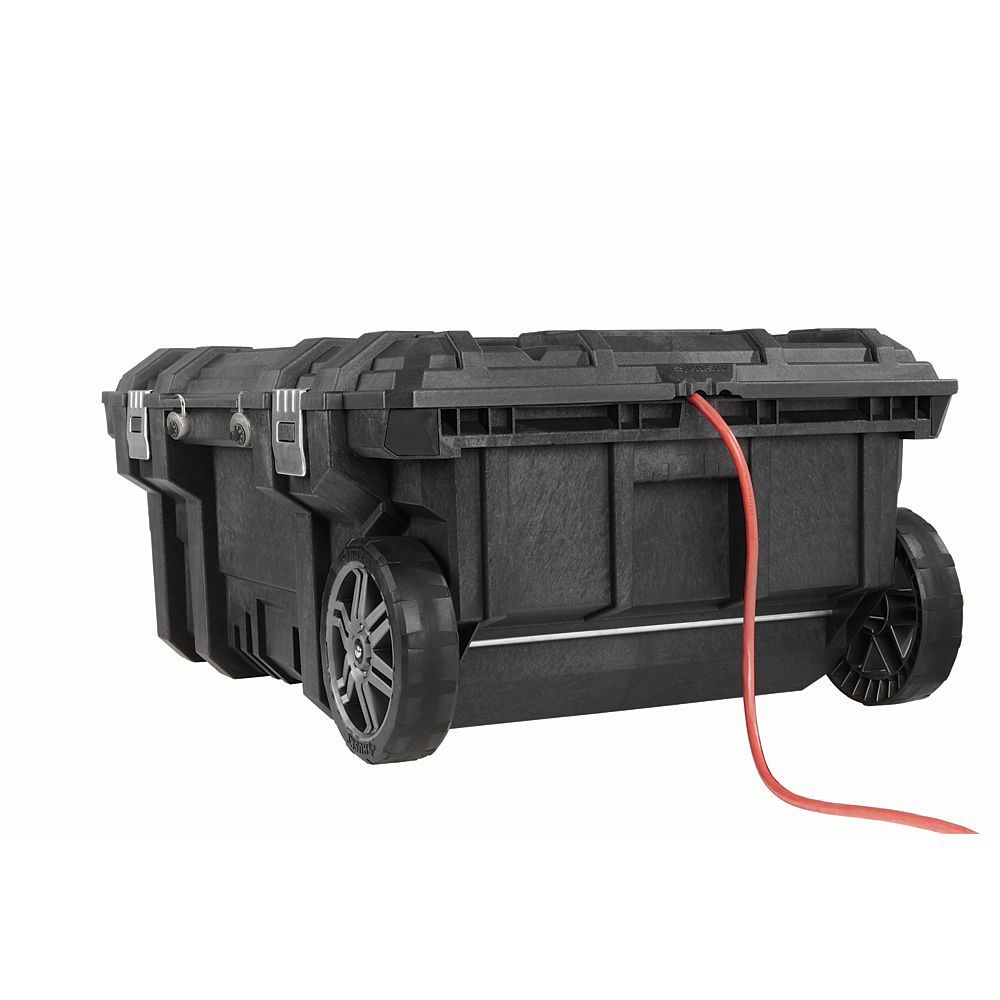 Husky 35-inch Mobile Work Cart and Tool Box