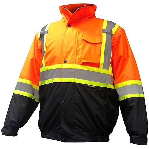 Storm Fighter Insulated Bomber Jacket X-Large