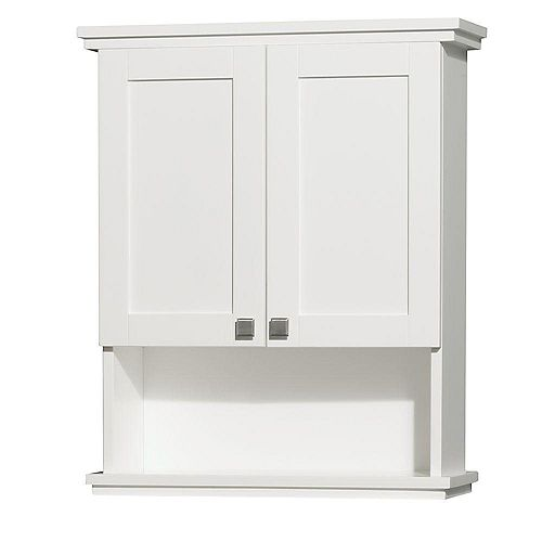 Acclaim 30 In. W Wall Cabinet in White
