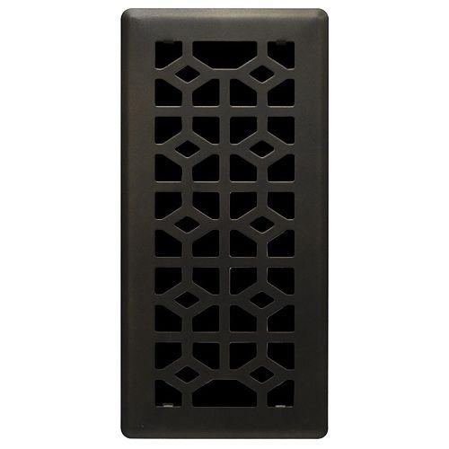 Hampton Bay Designer 3x10 bronze Registre de plancher