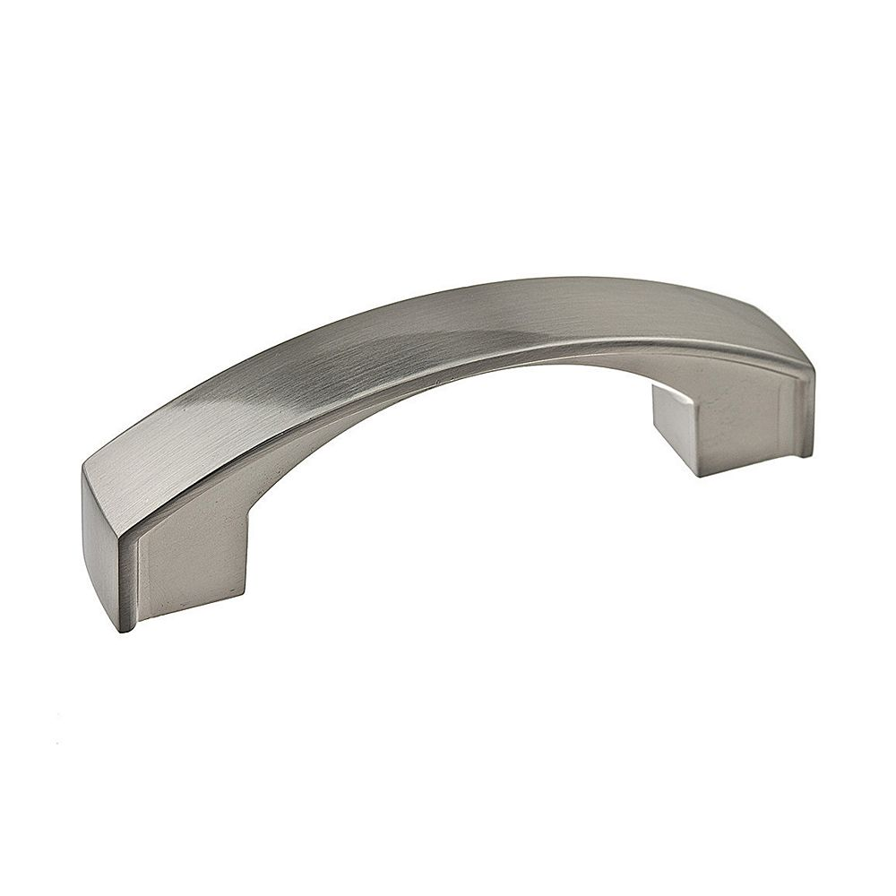Richelieu Transitional Metal Pull 3 in (76.2 mm) CtoC - Brushed Nickel  - Boisbriand Collection
