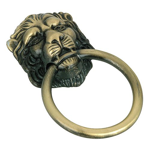 Richelieu Poignée traditionnelle en métal  - Antique anglais - Collection Provence