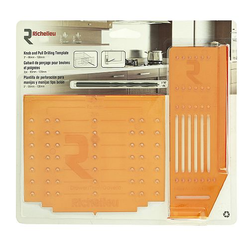 Knob and Pull Drilling Template Kit