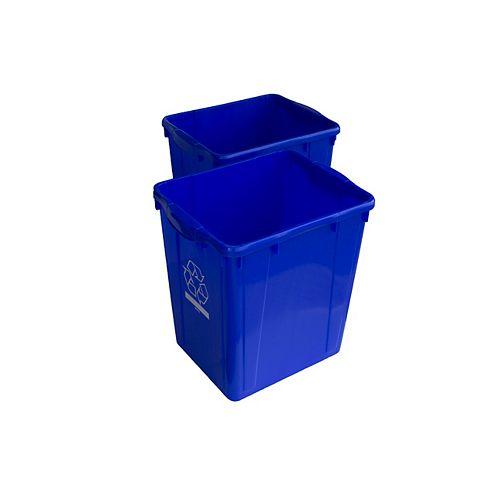 Recyclage: boîte de 22 gl. (2 PACK)
