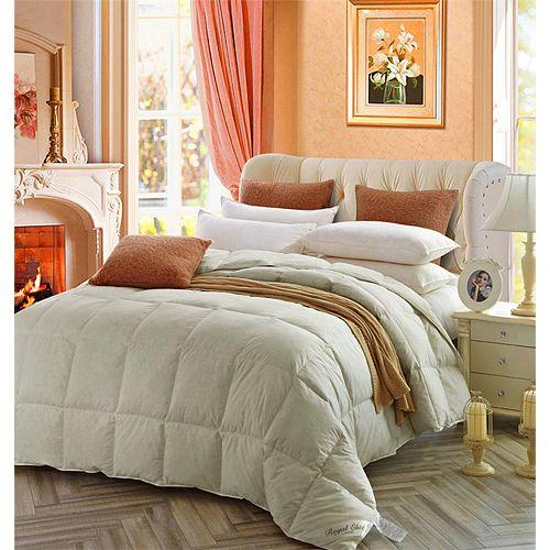 couette de laine, très grand lit
