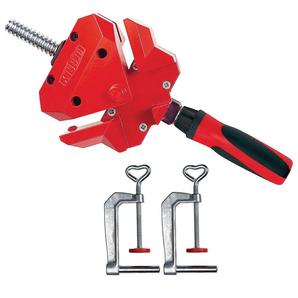 BESSEY 90 Degree Angle Clamp, Single Spindle WS-3+2K