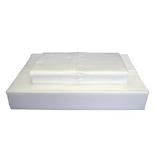 620TC Duncan Sheet Set, White, King