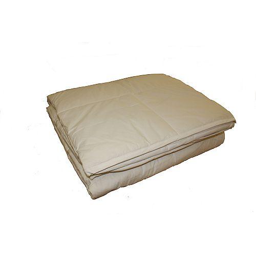couette de laine, super grand lit