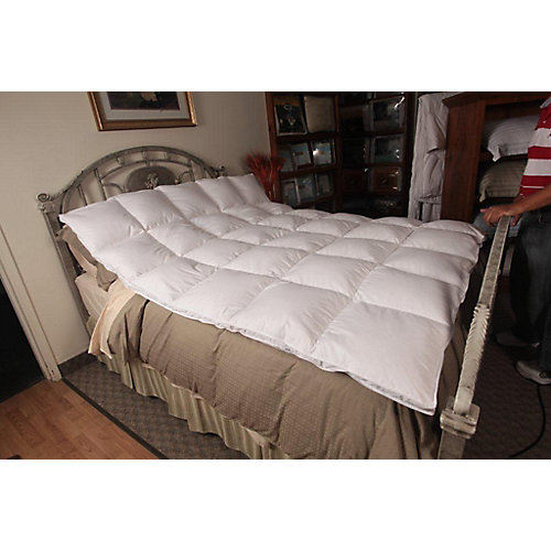 White Goose Featherbed, Double