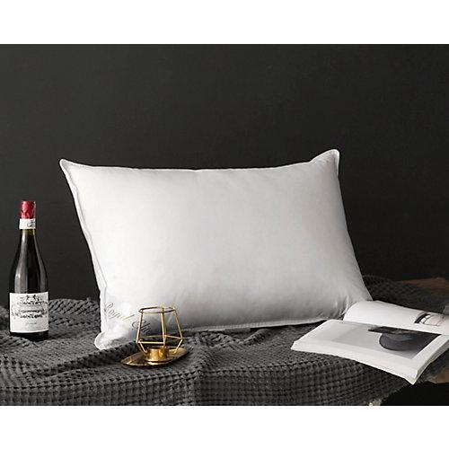 233TC White Duck Down Pillow, Standard 16 oz.
