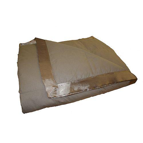 Couverture de duvet, D'hiver, grand lit, Mink