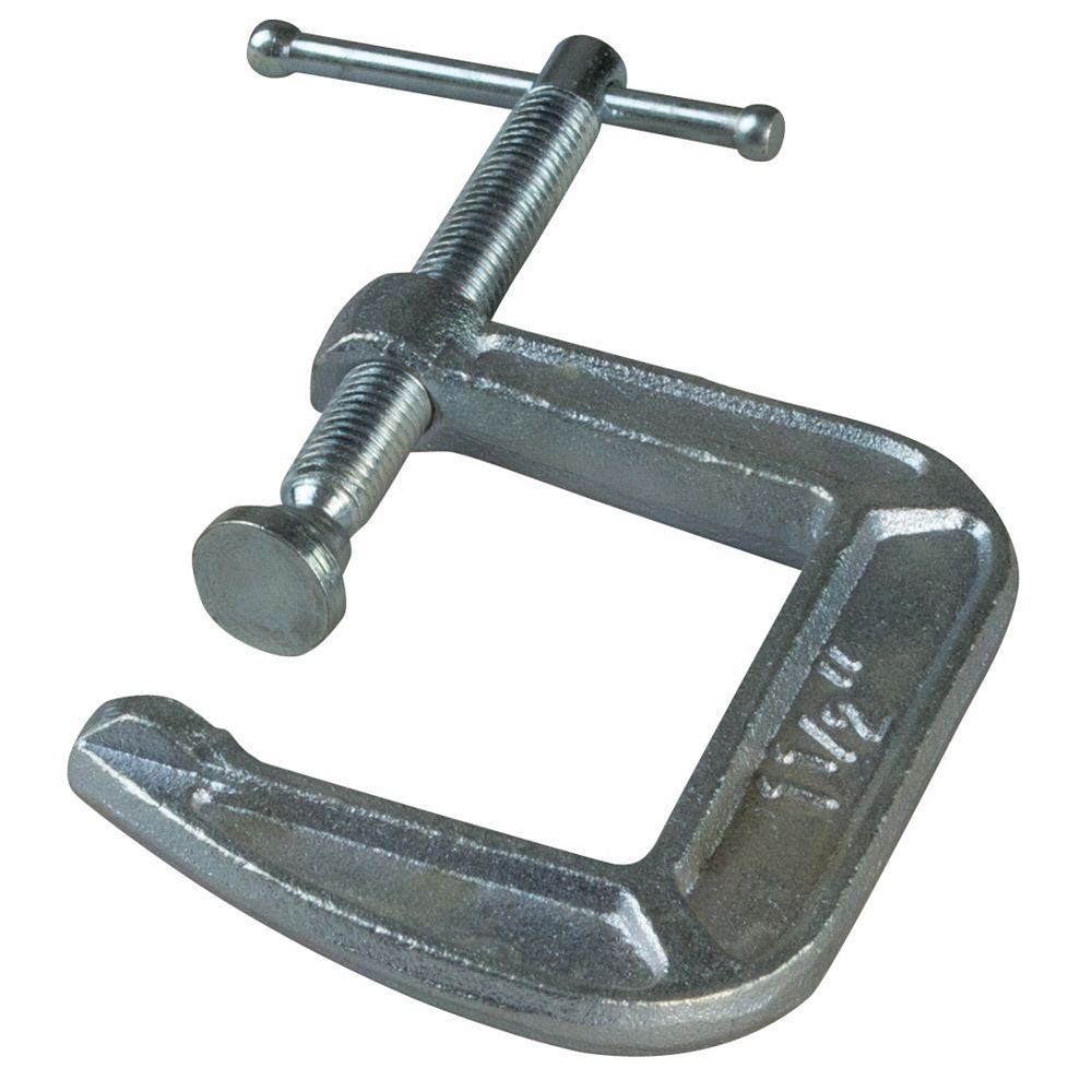 BESSEY BESSEY 3 Inch 900 lb. Drop Forged C-Clamp with 4-1/2 Inch Throat Depth