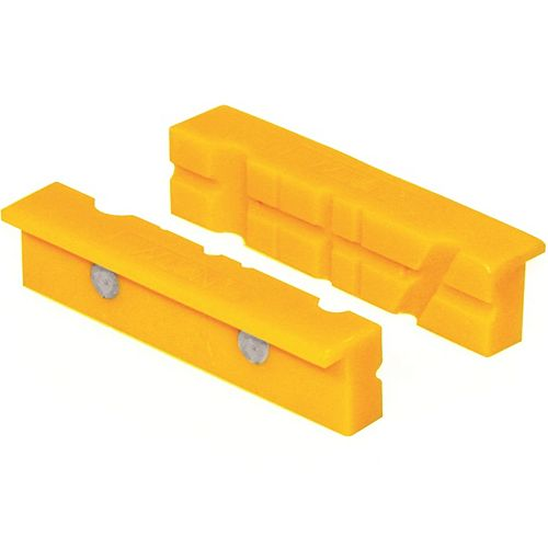 BESSEY Non-marring Vise Jaw Accessory for Use on Vises with Jaws from 3 Inch to 6 Inch Wide