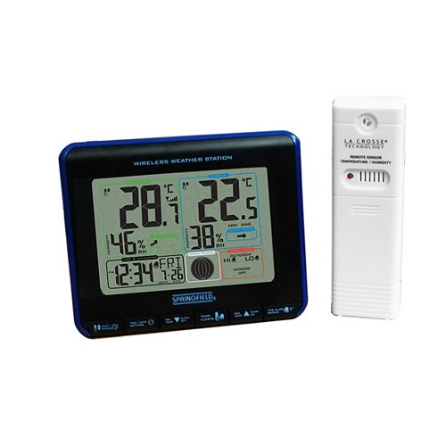 Wireless Weather Station, Colour Display