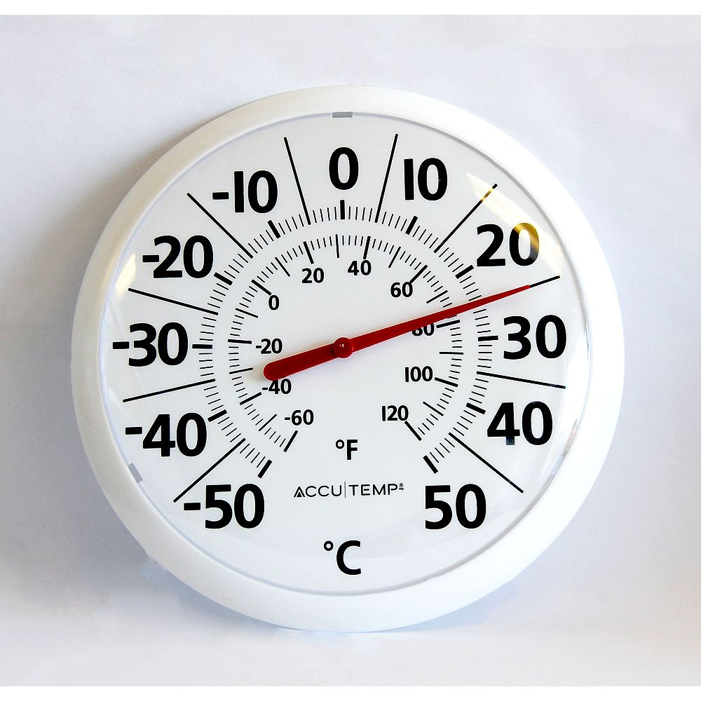 Accutemp 13 inch Outdoor Thermometer