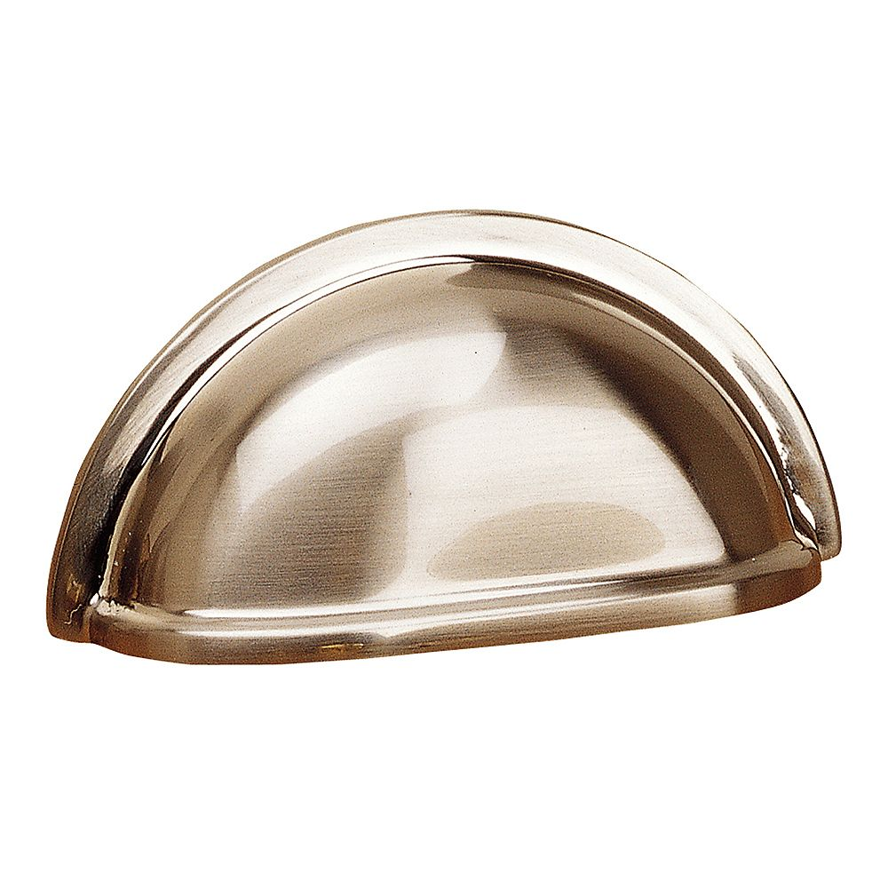 Richelieu Kirkland Collection 3 in (76.2 mm) Center-to-Center Brushed Nickel Traditional Cabinet Pull