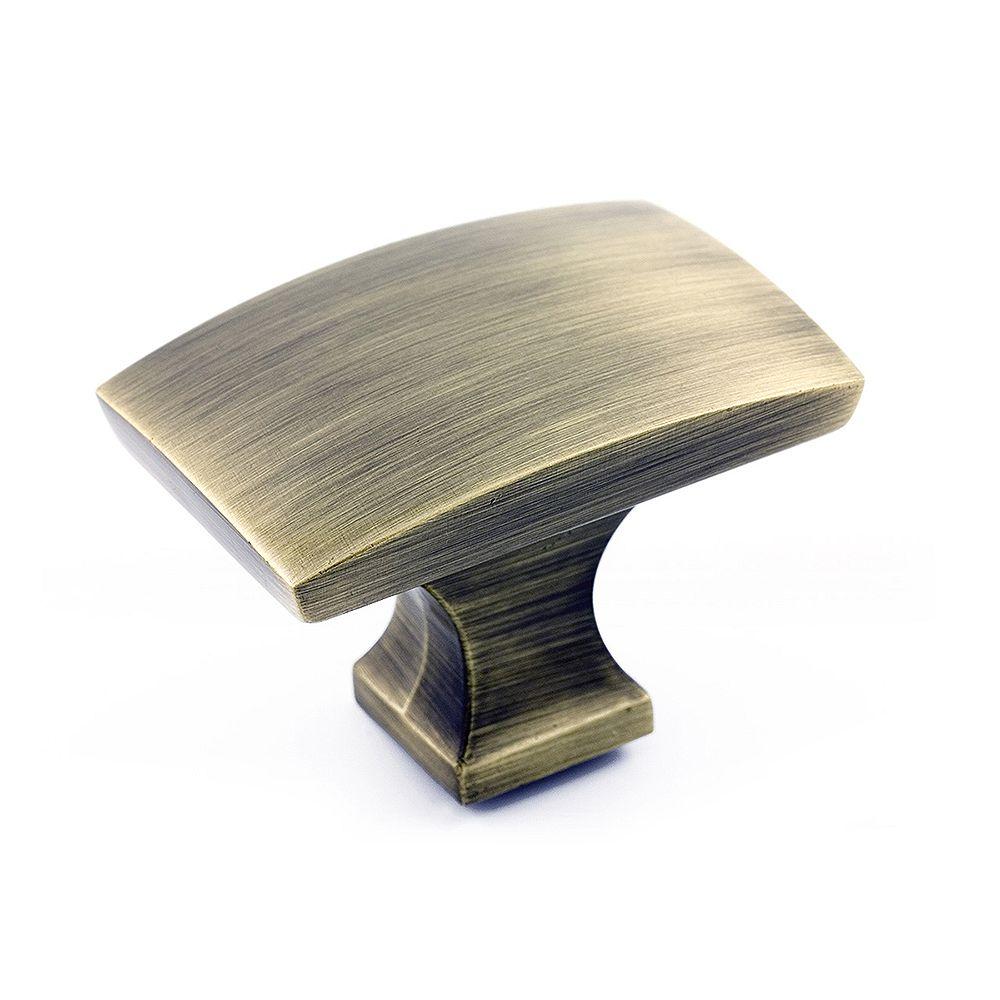 Richelieu Transitional Metal Knob  Antique English - Rosemère Collection