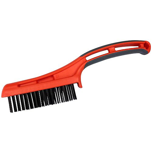 WIRE BRUSH OVERMOLD HANDLE