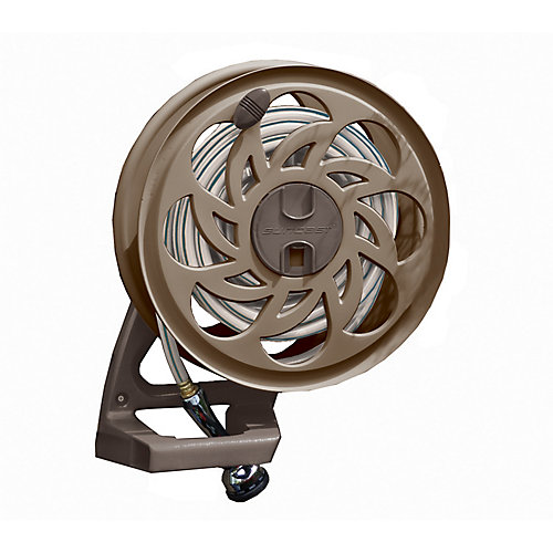 Side Tracker Hose Reel with 125 ft. Capacity