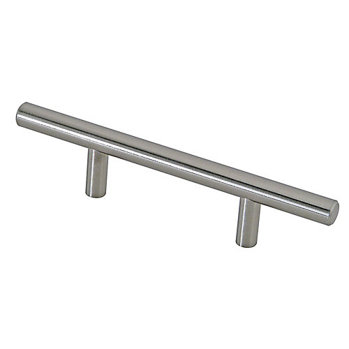 Contemporary Metal Pull 3 in (76.2 mm) CtoC - Brushed Nickel - Washington Collection
