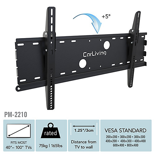 PM-2210 Wall Mount for 32-inch - 90-inch TVs