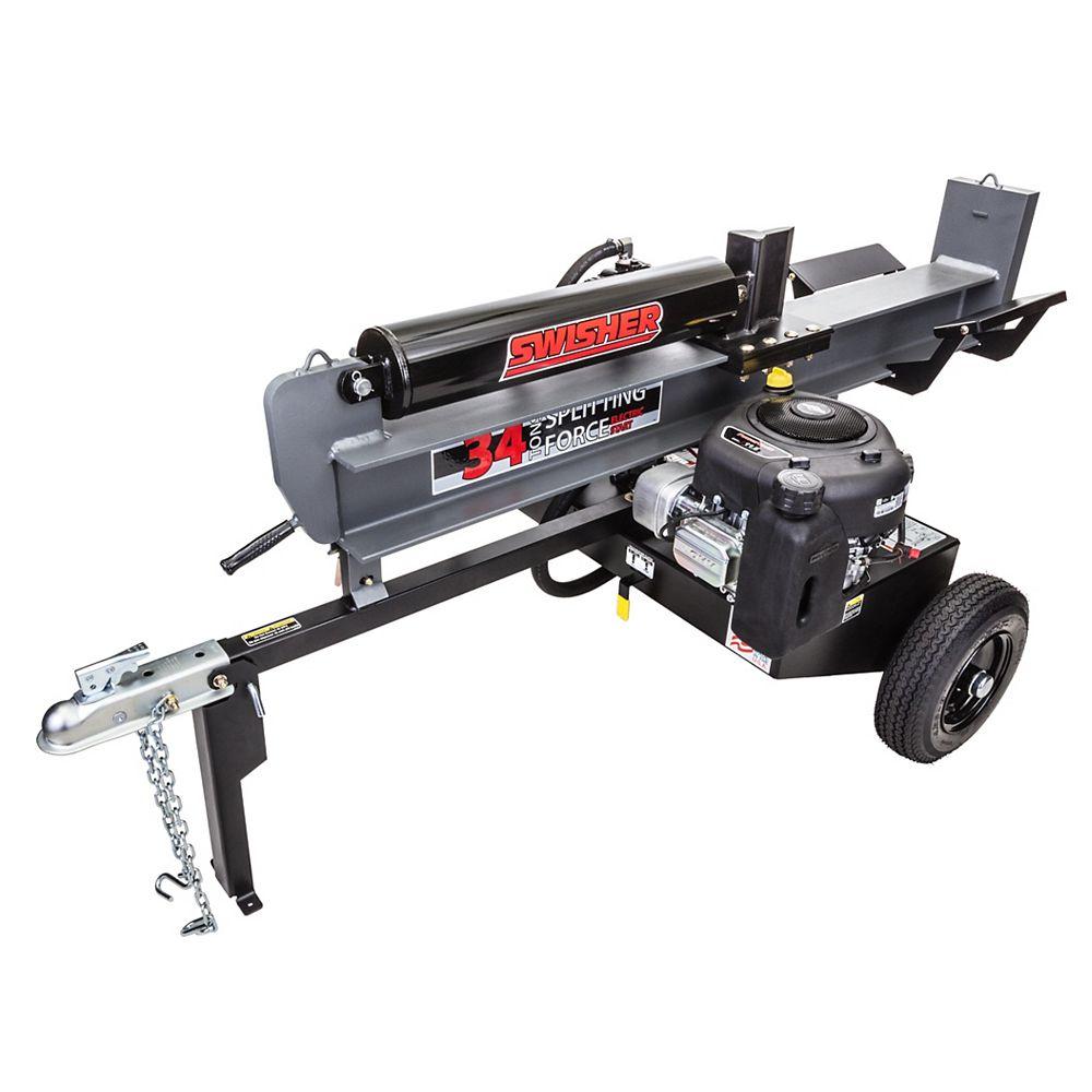 Swisher 11.5 HP 34 Ton Log Splitter
