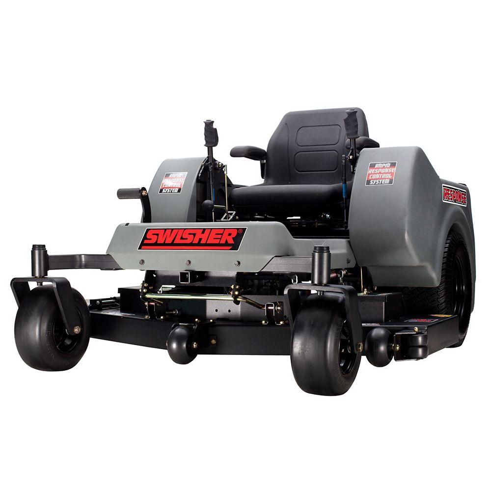 Swisher Tracteur à pelouse 24 HP Zero Turn avec plateau de coupe de 54po