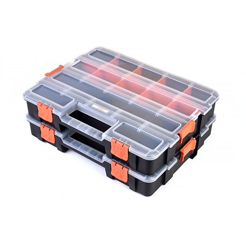 Interlocking Organizer Box (2-Pack)