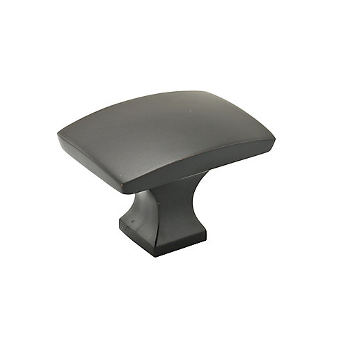 Transitional Metal Knob  Matte Black - Rosemère Collection