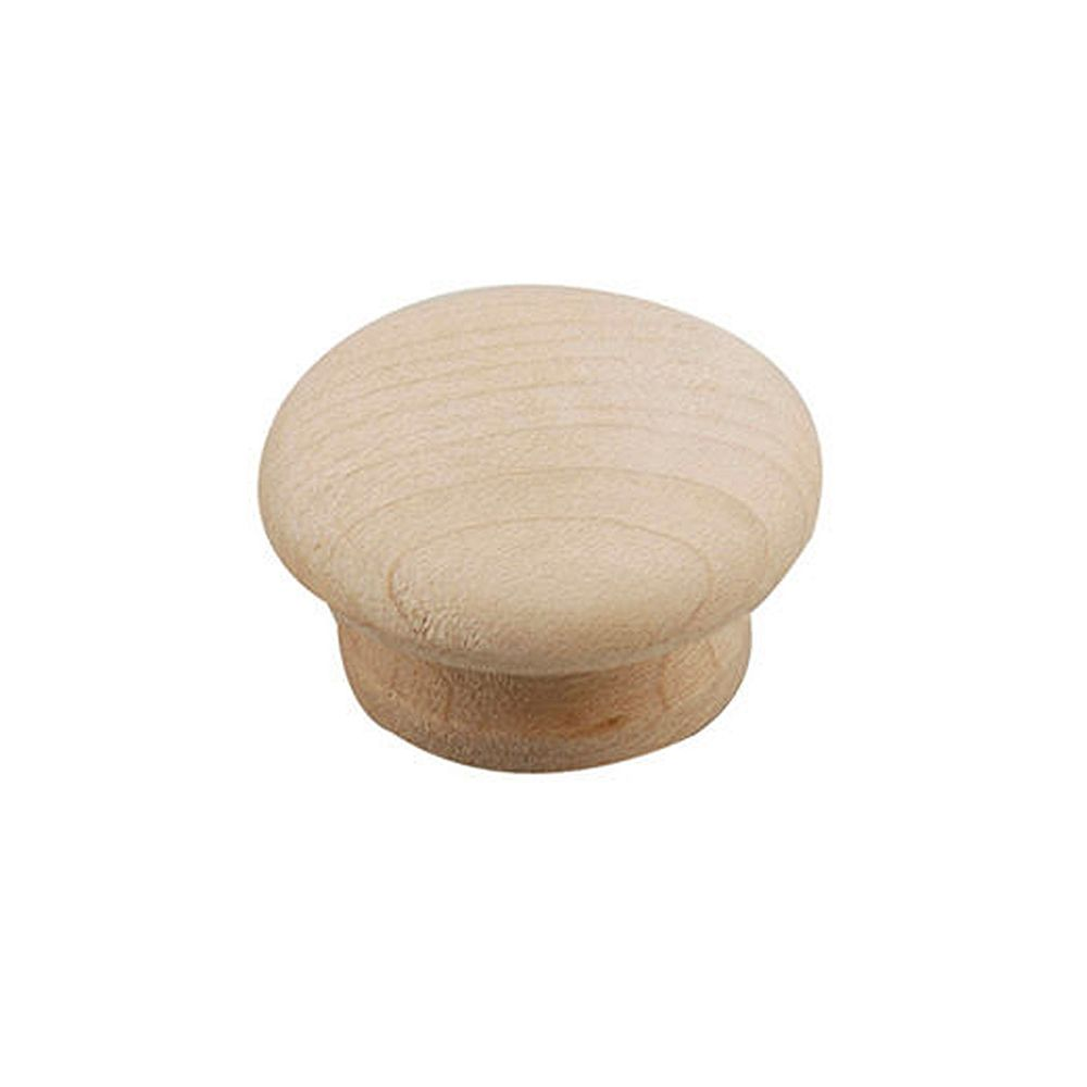 Richelieu (Pack of 2) Bourgogne Collection 1 1/4 in (31.8 mm) Wood Eclectic Cabinet Knob