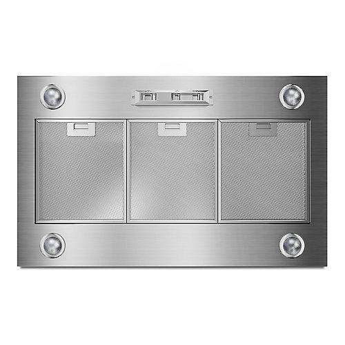 36-inch Custom Range Hood Liner in Stainless Steel