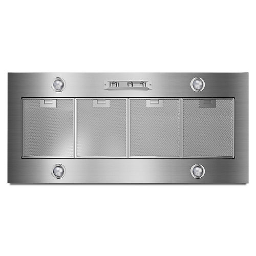 48-inch Custom Range Hood Liner in Stainless Steel